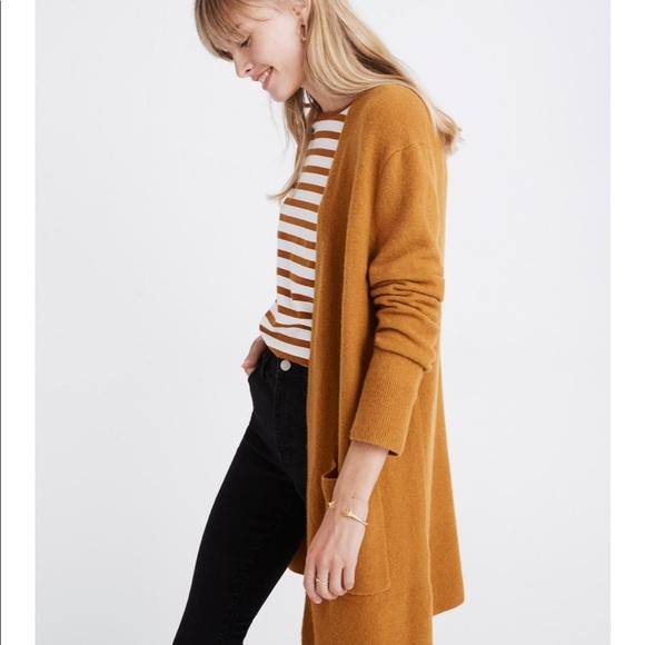 aa9f7a79516 NEW Madewell Kent Cardigan Sweater in Coziest Yarn